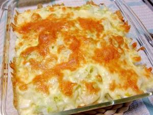 簡単♪みんな大好き☆ポテトと白菜のチーズ焼き