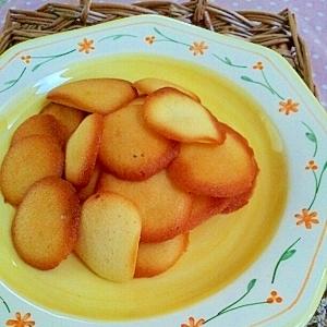 ラングドシャ♪余った卵白とマーガリンで簡単クッキー