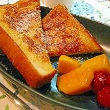 *フレンチトースト* 朝食・おやつ