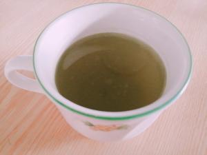 爽やか☆オレンジ入りの緑茶