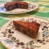 ラムレーズンのフルーツケーキ