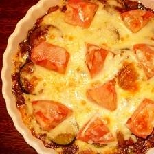 ズッキーニの焼きチーズカレー