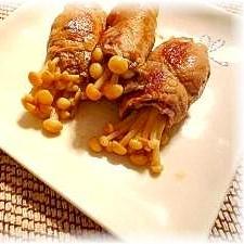 ♪♪梅味がウメ~★えのきの豚肉巻き巻きロール♪♪