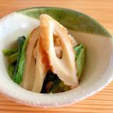 お弁当に☆小松菜とちくわのさっと煮