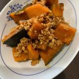 ほくほく!かぼちゃとひき肉のそぼろ煮