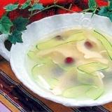 燻製ソイチキンのスープ