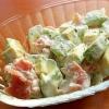 アボカドと生ハムのサラダ