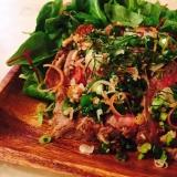 ザ!お肉‼︎モリモリ食べられる和風ローストビーフ☆