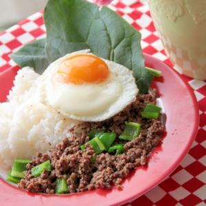 タイの屋台風『ガパオ炒めご飯』