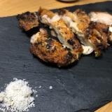 トリュフ岩塩若鶏もも肉焼き