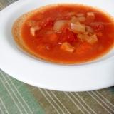 トマト缶でシンプル★やみつき♪濃厚トマトスープ
