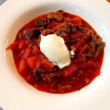 ボルシチ*赤いスープ