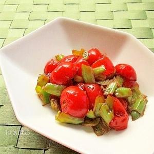 ミニトマトのサルサ風ソテー