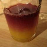赤ワインのオレンジカクテル