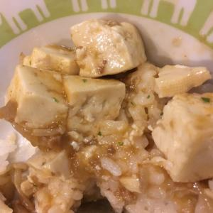 えのき麻婆豆腐どん
