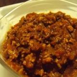 自家製凍り豆腐で、まるでお肉なベジミートソース♪