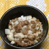 簡単アレンジ*納豆と長芋と梅干しの和え物