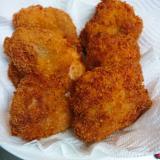 鶏もも肉でシンプルチキンカツ