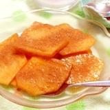 シナモン好きには、たまらない甘~いホット柿デザート