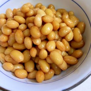 時短節約! 大豆の煮豆