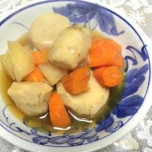 ホクホクな「里芋と大根と人参の煮物」