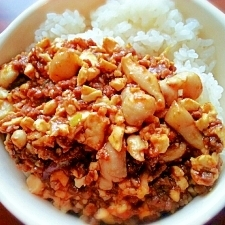 豆腐入りの♡ほろほろキーマカレー