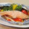 野菜もたっぷり食べられる♪「鮭の野菜蒸し」献立