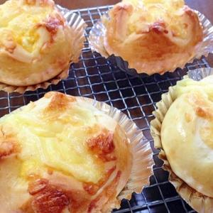卵チーズパン