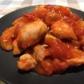 トマト缶で☆鶏肉とじゃがいものトマト煮込み