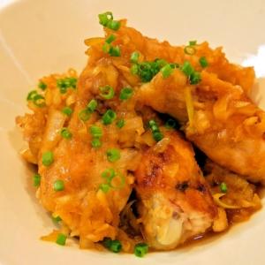 フライパンで♪簡単チキンの生姜焼き