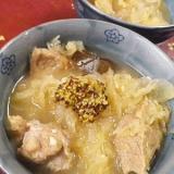 豚ザワークラウトハニースープ