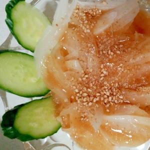 ヘルシーで簡単新玉葱のオニオンサラダ