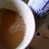 甘酒カフェオレ