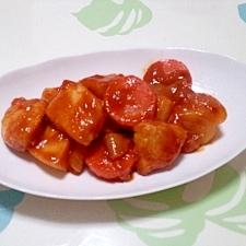 鶏むねと野菜のピリ辛炒め煮++