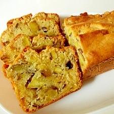 しっとり&どっしり、さつま芋のパウンドケーキ