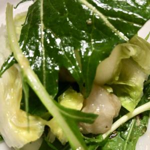 水菜*里芋*白菜の和え物