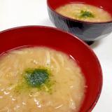 たっぷり食物繊維(^^)切り干し大根の味噌汁♪