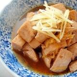 マグロの生姜煮