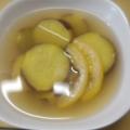 さつま芋とレモンのジンジャーハニー煮♬