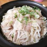 【タジン鍋】豚バラもやしキャベツの塩だれ蒸し