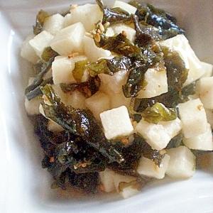 大根の酢味噌サラダ