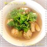鍋用✳︎鶏だんごの作り方(冷凍保存できます☆‼︎)