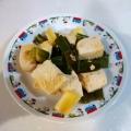 超節約♬ 豆腐のオイスターソース炒め