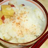 もち米入りさつま芋ご飯