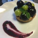2色葡萄のプチタルト