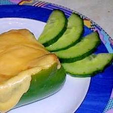 パプリカのマッシュポテトチーズ焼き