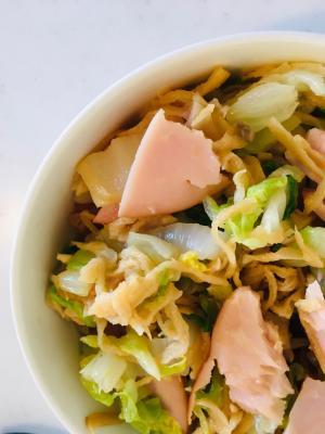 切り干しだいこんと白菜の中華サラダ