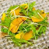 オレンジのフルーツサラダ