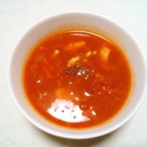 お野菜たっぷり!トマトジュースでトマトスープ♡