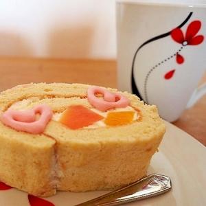 ふわふわロールケーキ☆